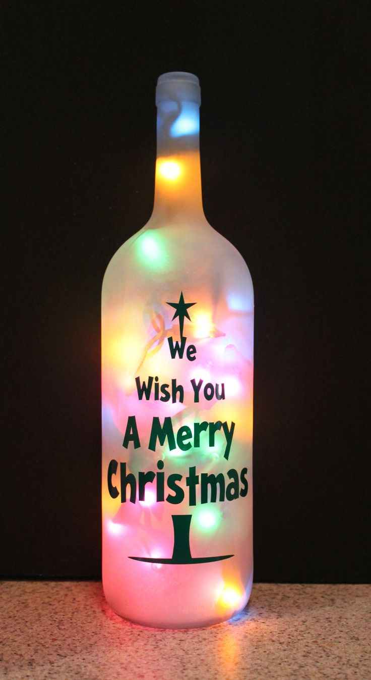 Our unique lighted wine bottles make a beautiful accent to any room, business, or office. Lighted wine bottles can be made for any holiday, special occasion or theme.