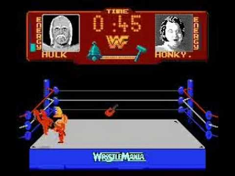 WWF WrestleMania by Acclaim Entertainment for the Nintendo Entertainment System #NES - Playthrough by bubufubu