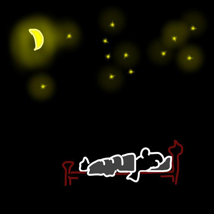 De nacht is stil ...
