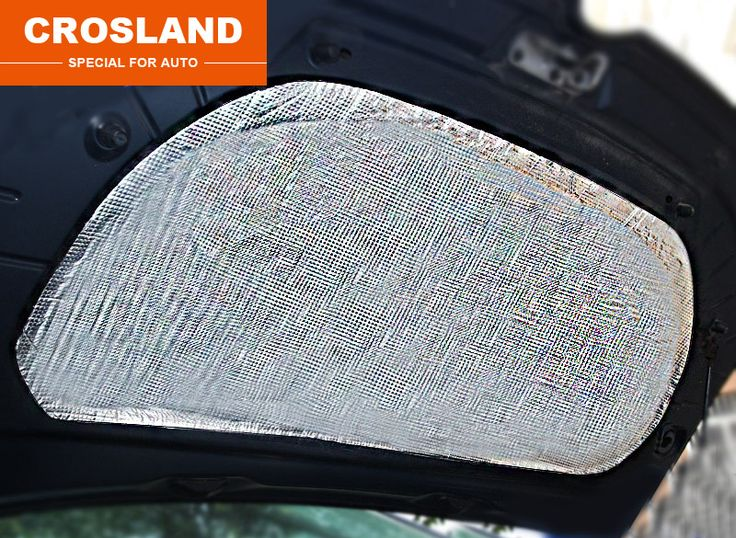 Sale 1Pcset For Mg Gs 2015 2016 Engine Insulation Sticker Car Cover Reduce Noise Patience #High #Temperature #Insulation