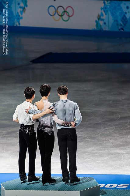 Denis TEN, Yuzuru HANYU , Patrick CHAN   Flickr - Photo Sharing!
