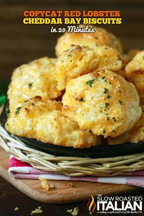 Red lobster cheddar bay biscuits | Breads | Pinterest