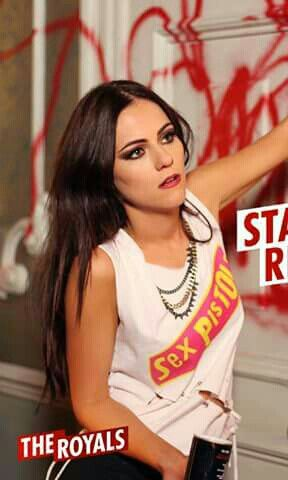 My new fashion obsession: Princess Eleanor, played by Alexandra Park, in E!'s 'The Royals.'