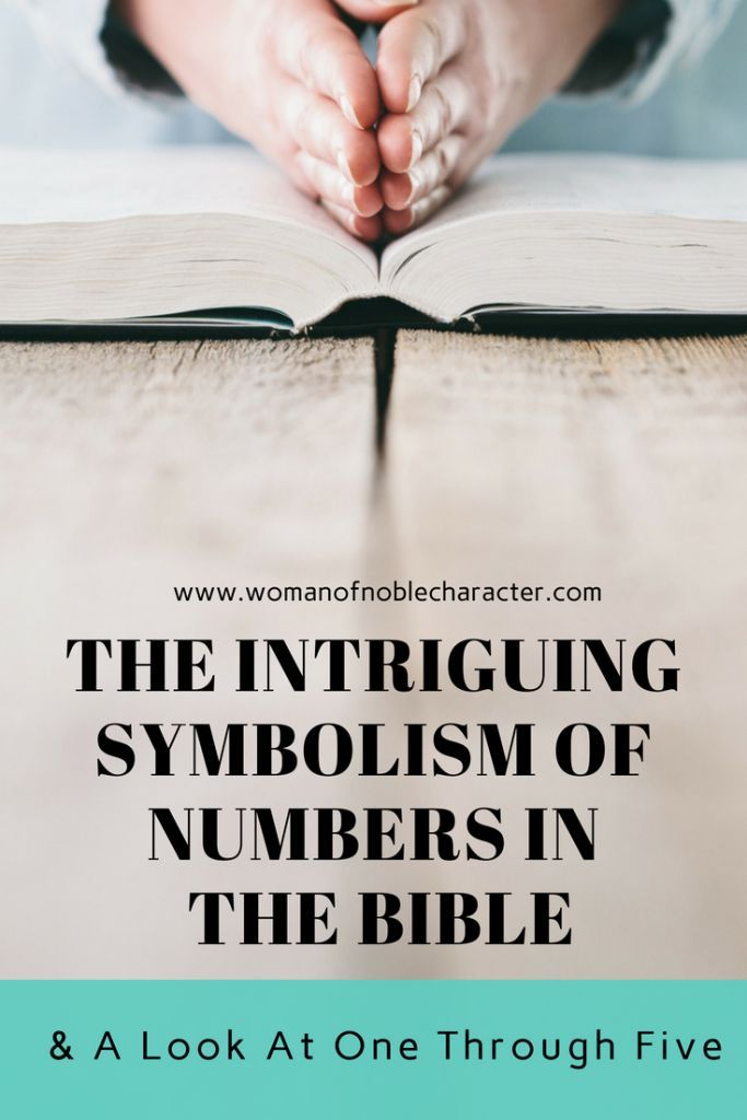 The Symbolism Of Numbers In The Bible A Look At Number 1 5