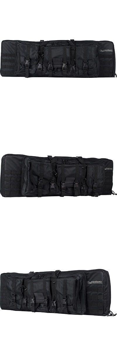 Equipment Bags and Cases 64672: Valken Tactical Gun Case / Marker Bag - Double - 46 - Black BUY IT NOW ONLY: $69.95