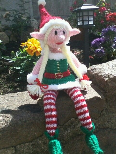 Girly Elf on the shelf