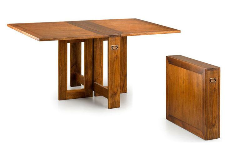 17 mejores ideas sobre mesas de comedor plegables en - Mesa plegable pequena ...