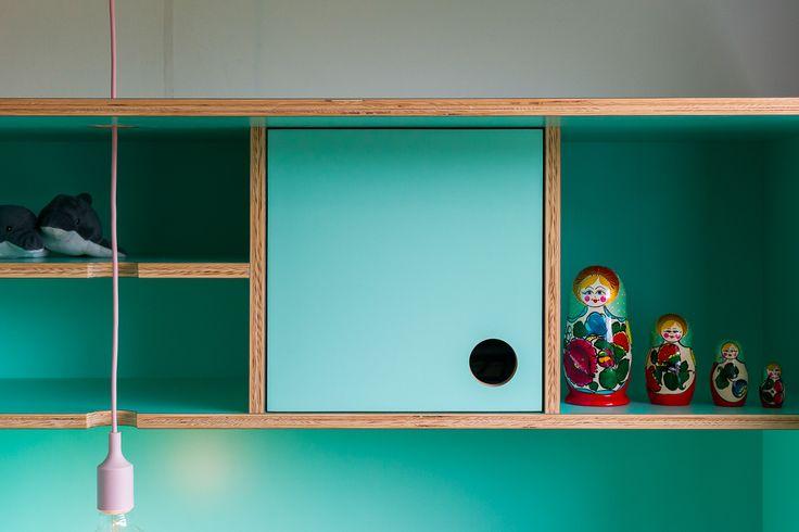 children's desk made by FABRIKAAT design by Van Staeyen Interieur