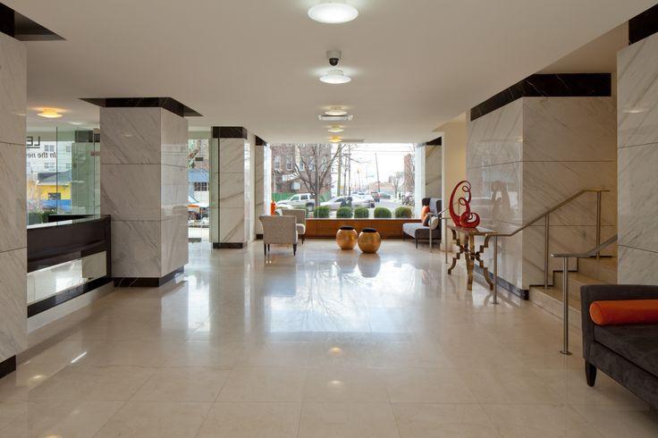 The Lenox Condominiums- lobby