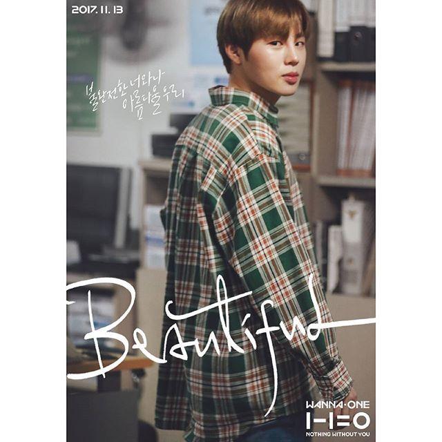 Wanna One Beautiful Mv Poster Wanna One 1 1 0 Nothing