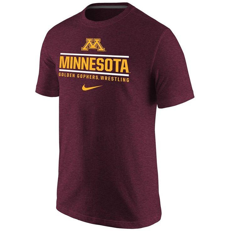 Minnesota Wrestling Nike Triblend T