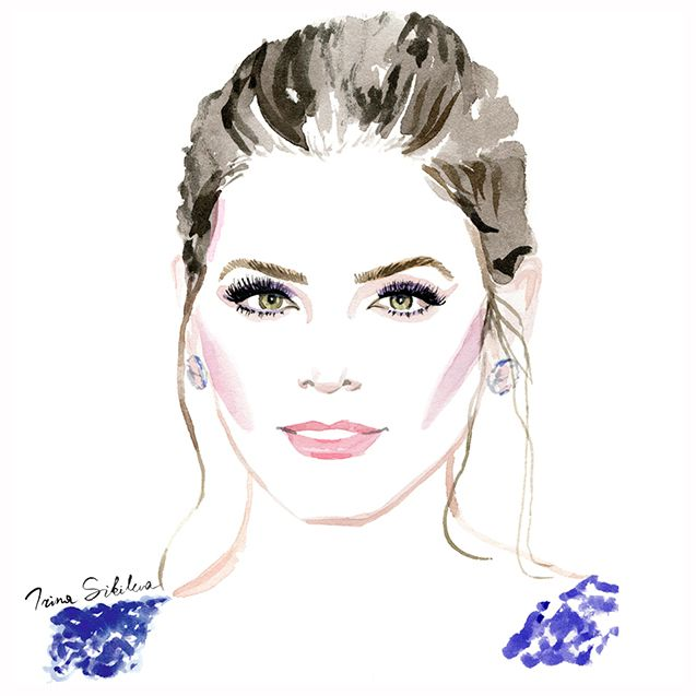 Jenna Dewan Tatum, illustration by Irina Sibileva