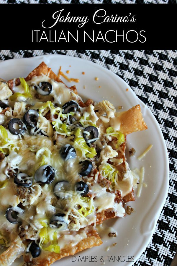 Johnny Carino's Italian Nachos, recipe