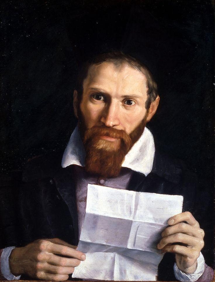 From Wikiwand: Portrait of Giovanni Battista Agucchi by his friend Domenichino, 1615–1620