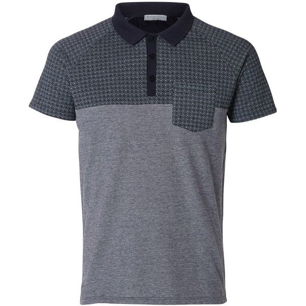 Selected Classic Polo Shirt (92 BRL) ❤ liked on Polyvore featuring men's fashion, men's clothing, men's shirts, men's polos, navy blazer, men's cotton polo shirts, mens navy blue shirt, mens summer shirts, old navy mens shirts and men's regular fit shirts