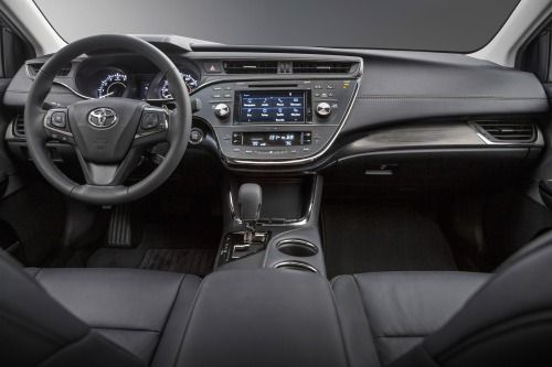 2016 Toyota Avalon Touring Sedan Dashboard Shown
