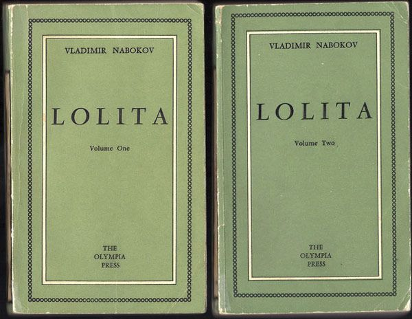 The First Edition Covers of 25 Classic Books: Lolita, by Vladimir Nabokov. Olympia Press, Paris, 1955 // Material via Twitter @BelenBermejo