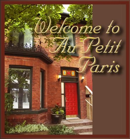 Au Petit Paris Bed and Breakfast (B) in Downtown Toronto, Canada