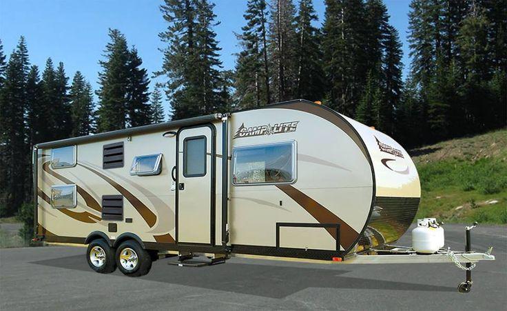 Camplite 16dbs all aluminum automotive travel trailer