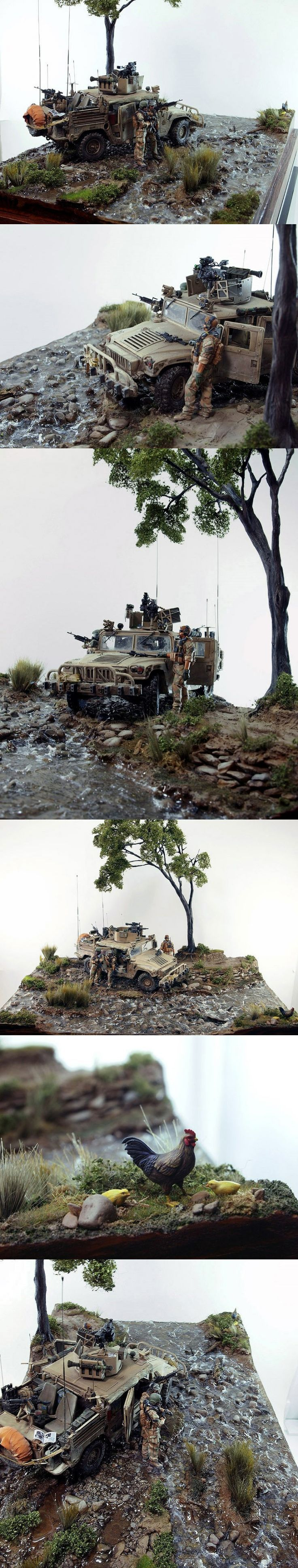Cool dioramas. Amazing paint jobs!!!! - Page 2 - AR15.COM
