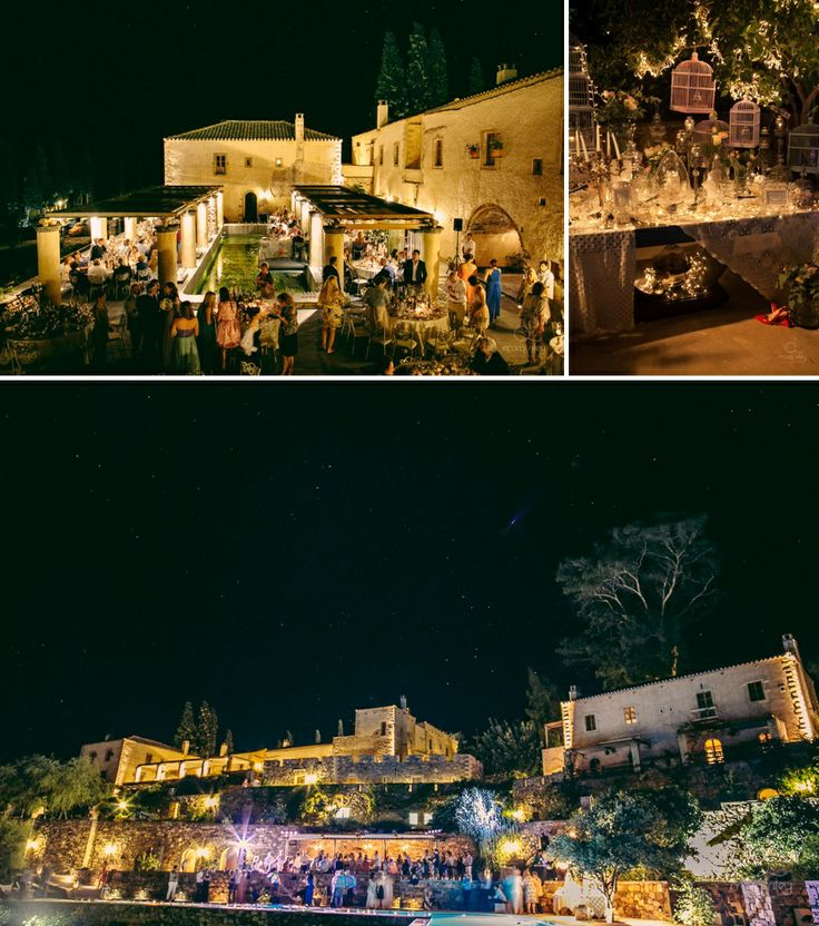 The charming Kinsterna Hotel @Monenvasia where the after wedding party took place!