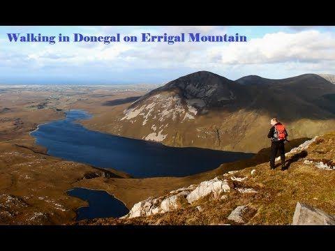 Walking in Donegal - Errigal