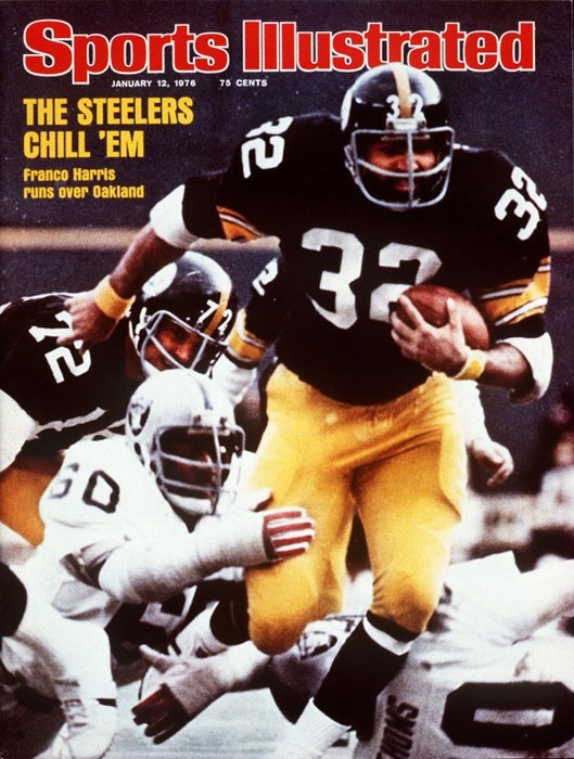 Franco Harris - Pittsburgh Steelers Sports Illustrated Cover