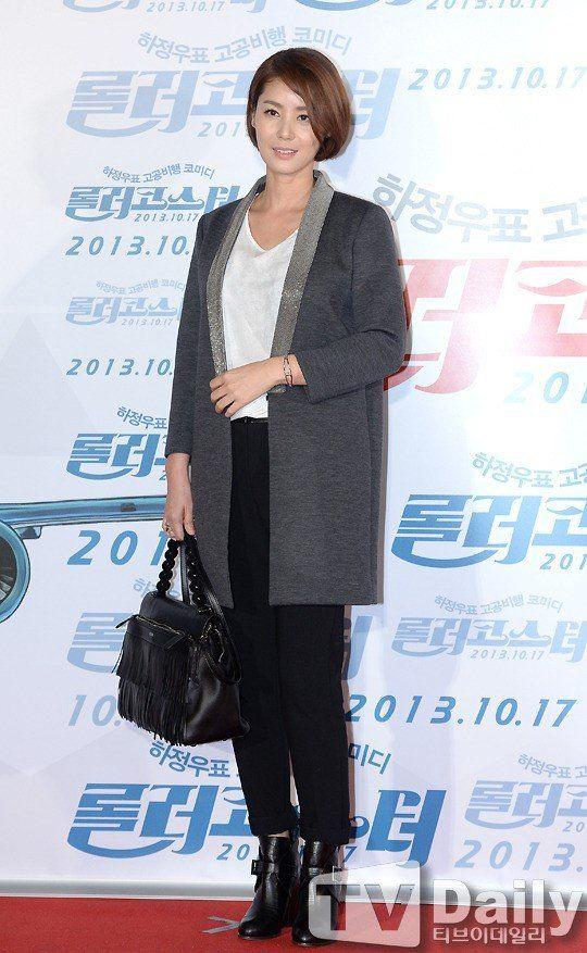 Miss Korea and actress Kim Seong-ryeong (김성령)   Stylish