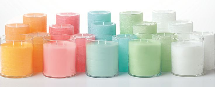 New Winter/Spring GloLite by PartyLite candle fragrances: Juicy Clementine, Wild Strawberry, Tropical Waters and Unscented (white) along with Cucumber Ginger Mint and Iced Snowberries. Available 12/19. #PartyLiteSneakPeek