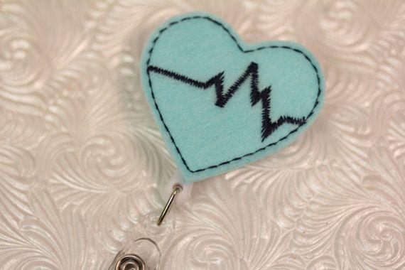 professional nursing badge holder  retractable by DefinitelyYou, $6.00