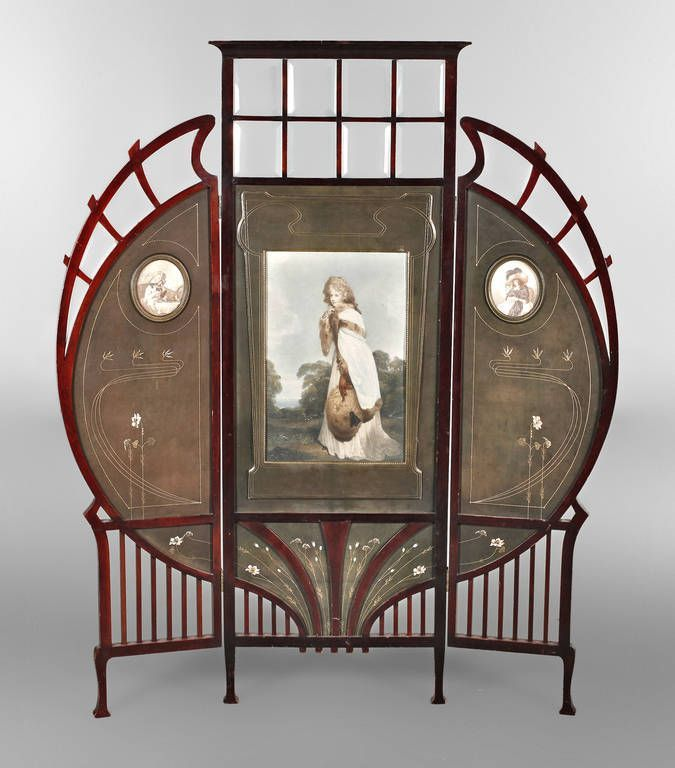 680 best art nouveau furniture furnishings images on. Black Bedroom Furniture Sets. Home Design Ideas