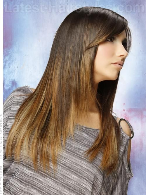 Hairstyle Ideas With Bangs 26 Easy Hairstyles For Long Straight Hair In 2020