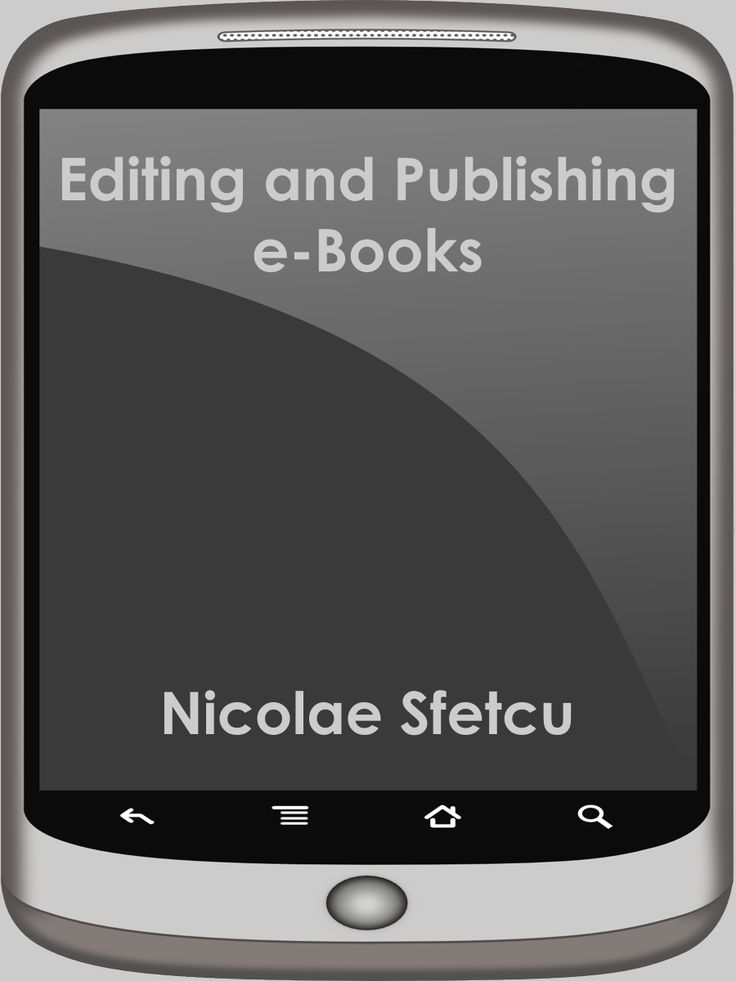 Book: Editing and Publishing e-Books  You wrote a book. Very nice. But you didn't write to keep it for you. You should publish it. The problem is that the publishers charge high prices for some authors pockets, and do it objectively, due to the high cost of printing.
