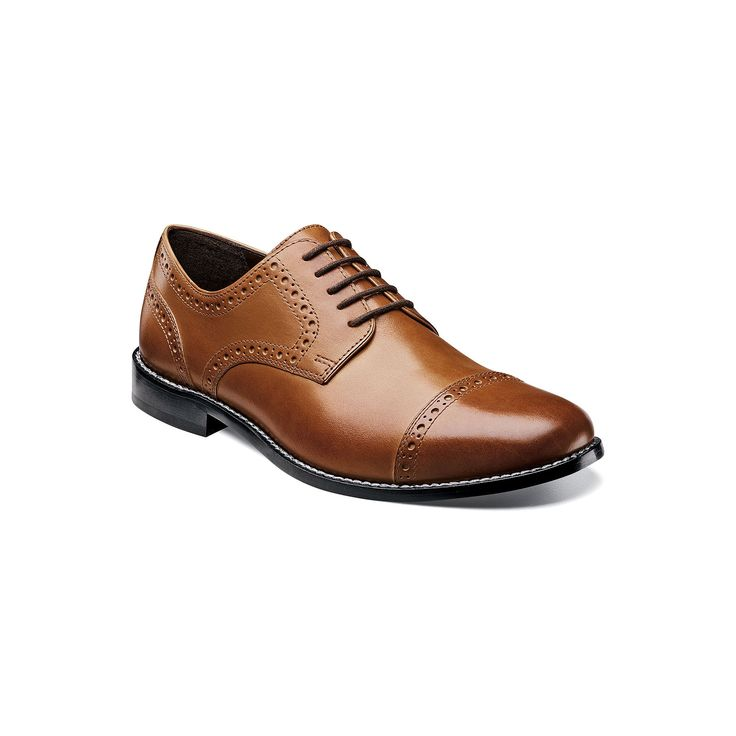 Nunn Bush Norcross Men's Brogue Dress Shoes, Size: medium (11.5), Red/Coppr (Rust/Coppr)