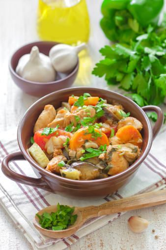 Chicken and Vegetable Stew - A comforting winter stew recipe  Link http://www.pressurecooker.com.au/recipes/chicken-duck-turkey/chicken-and-vegetable-stew