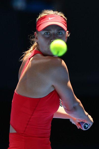 Maria Sharapova Photos: Australian Open: Day 3