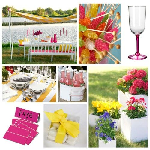 Outdoor Summer Birthday Party Ideas: 17 Best Ideas About Outdoor Birthday Parties On Pinterest