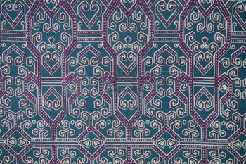 batik pattern: Traditional Batik Sarong Pattern Background