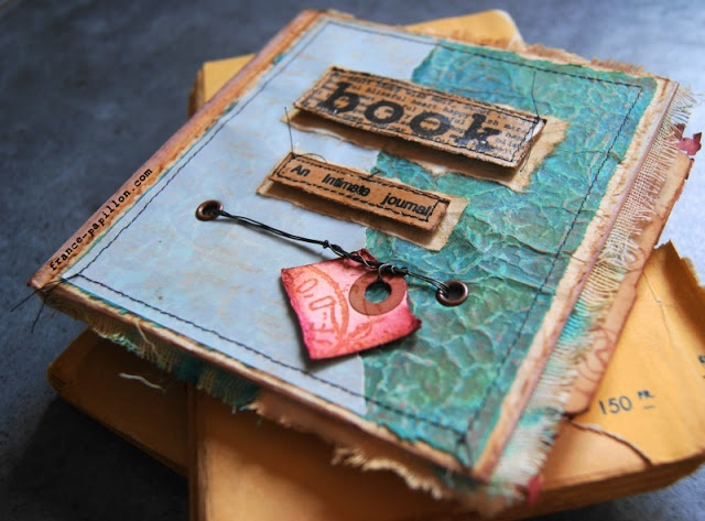 PaperArtsy: Welcome France Papillon #1 An Intimate Journal ....
