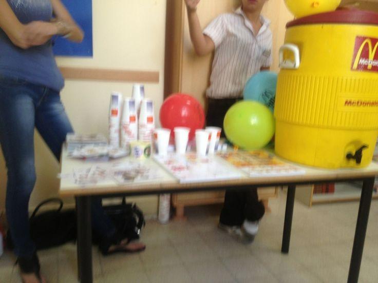 Roma: McDonald ci da il benvenuto alla scuola materna!