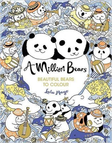 A Million Bears Colouring Books Amazoncouk Lulu Mayo