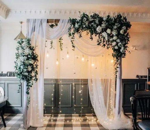 117 Hochzeitsbögen, die Ihre Zeremonie sofort aufwerten – Seite 21 – Homeinsp …   – Wedding thoughts