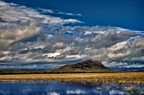 Bear Butte, near Sturgis, South Dakota