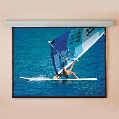 """Signature/Series E Motorized Front Projection Screen - 63 x 116"""" by Draper. $6497.99. 111439 Features: -Clean appearance of a ceiling-recessed screen..-Black borders standard on all formats (optional on AV)..-Warranted for one year against defects in materials and workmanship.. Options: -Depending on surface, available in sizes through 16' x 16' and 240'' NTSC..-Custom sizes available.."""