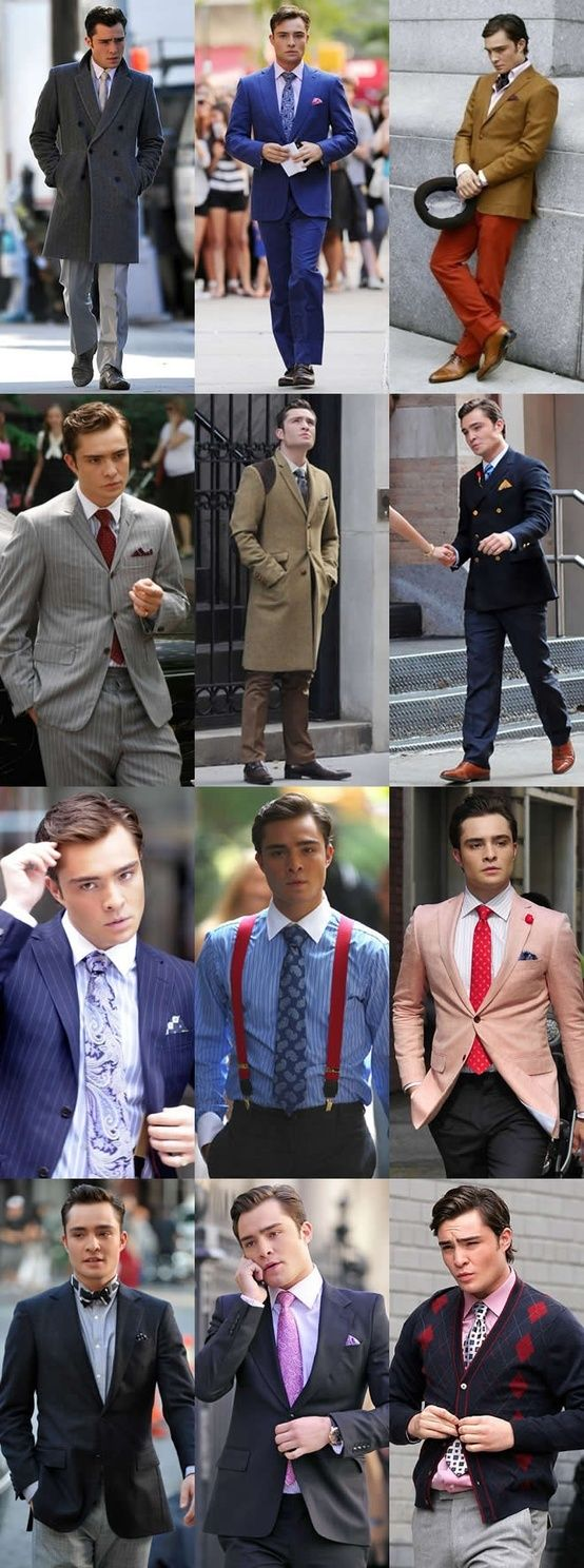 Chuck bass style.. I need to get me some more suits and bowties. | The Tres Chic
