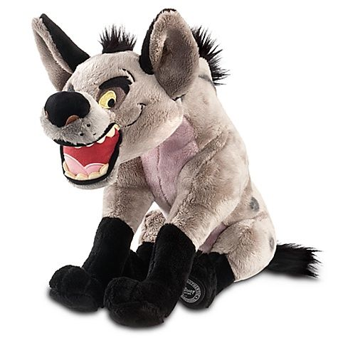 """Even nasty old hyenas need hugging too! BANZAI THE HYENA PLUSH SOFT TOY DOLL (from Walt #Disney """"The Lion King"""")"""