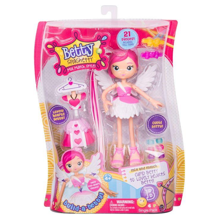 Betty Spaghetty Doll - Cupid Betty