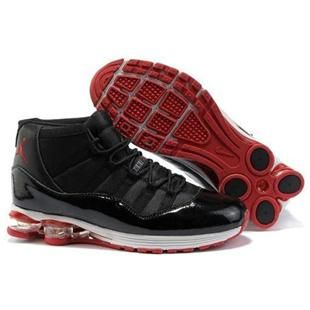 http://www.asneakers4u.com/ Mens Air Jordan Casual shoes 11 black white red | Jordan 11 New Arrival | Pinterest | Jordan Casual Shoes, Black White Red and ...
