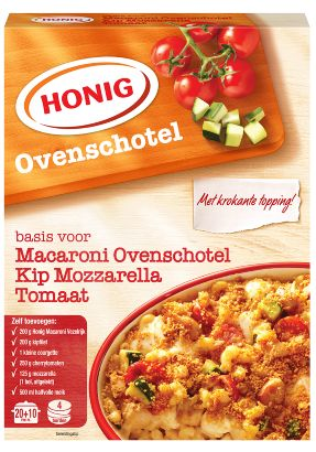 Honig - Macaroni Ovenschotel Kip mozzarella tomaat