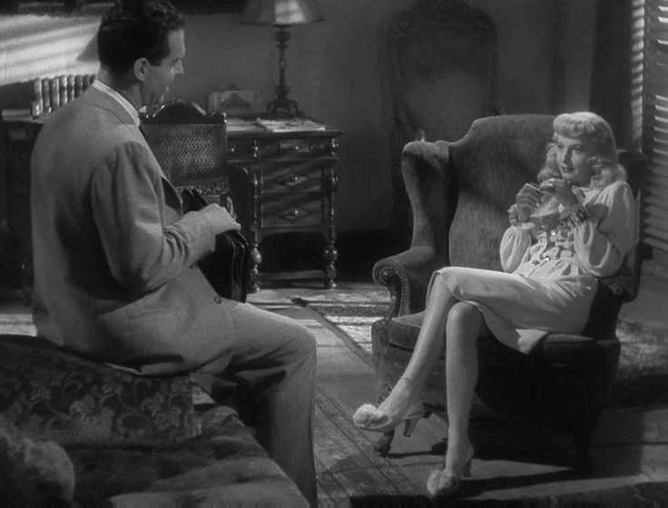 Double Indemnity (1944, Billy Wilder) / Cinematography by John F. Seitz